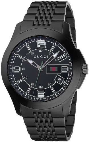 GUCCI G-Timeless Black PVD Steel Gents Watch YA126202